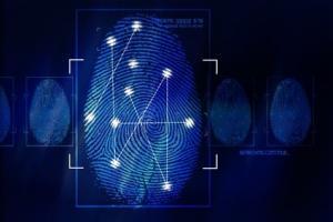 Sicherheit Fingerabdruck Türöffnung